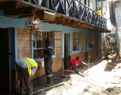 mathare school project
