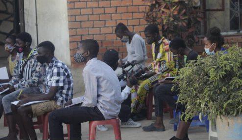Zambian students